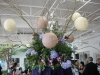 yacht-club-marina-shores-wedding-cocktail-tables-chinese-lanterns-centerpiece-asian-oriental-purple-white-blue