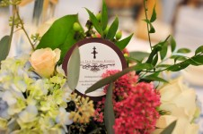 The Yacht Club Foral Arrangements by Black Iris Floral Events